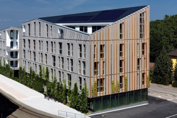 Fassade modern hotel  3 Sterne - INTERPLAN AG: Hotels